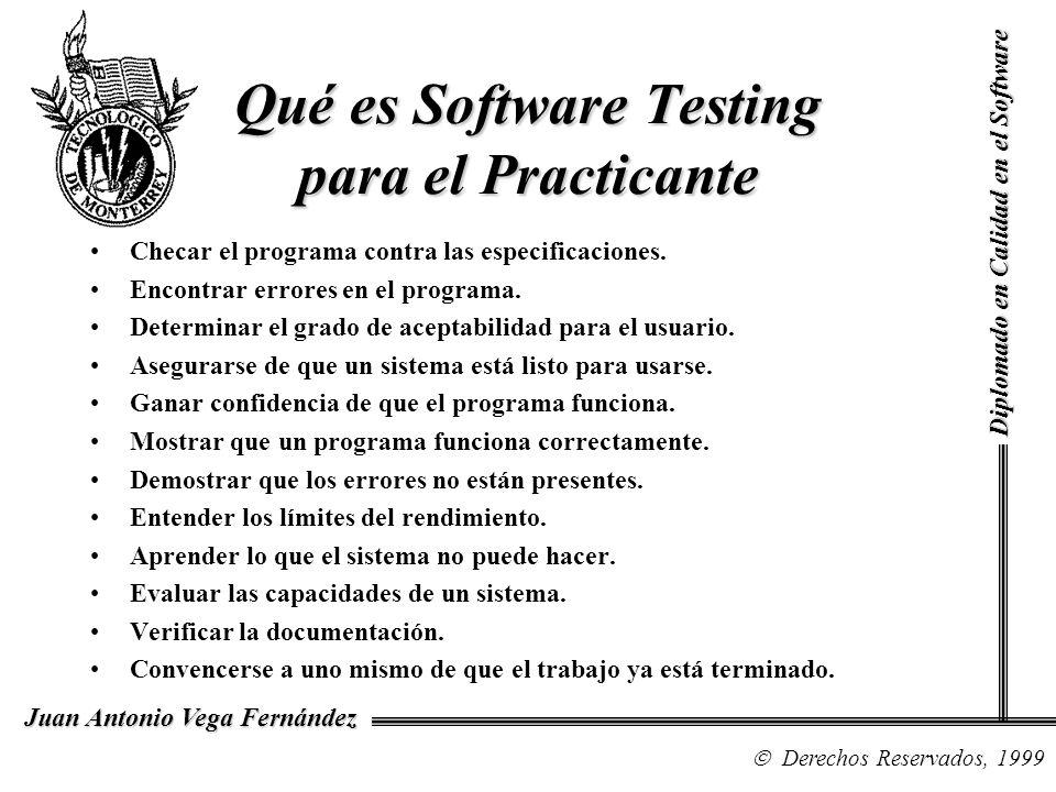 Qué es Software Testing para el Practicante