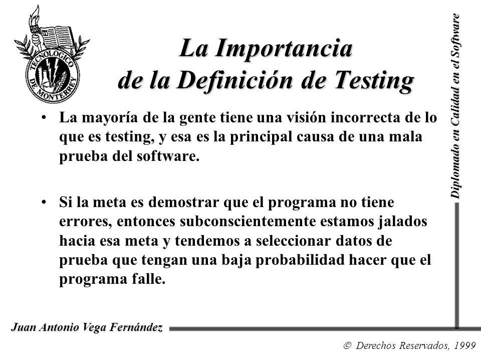 La Importancia de la Definición de Testing