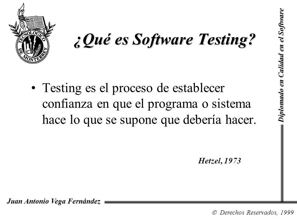 ¿Qué es Software Testing