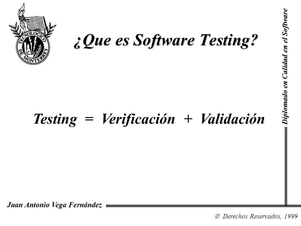 ¿Que es Software Testing