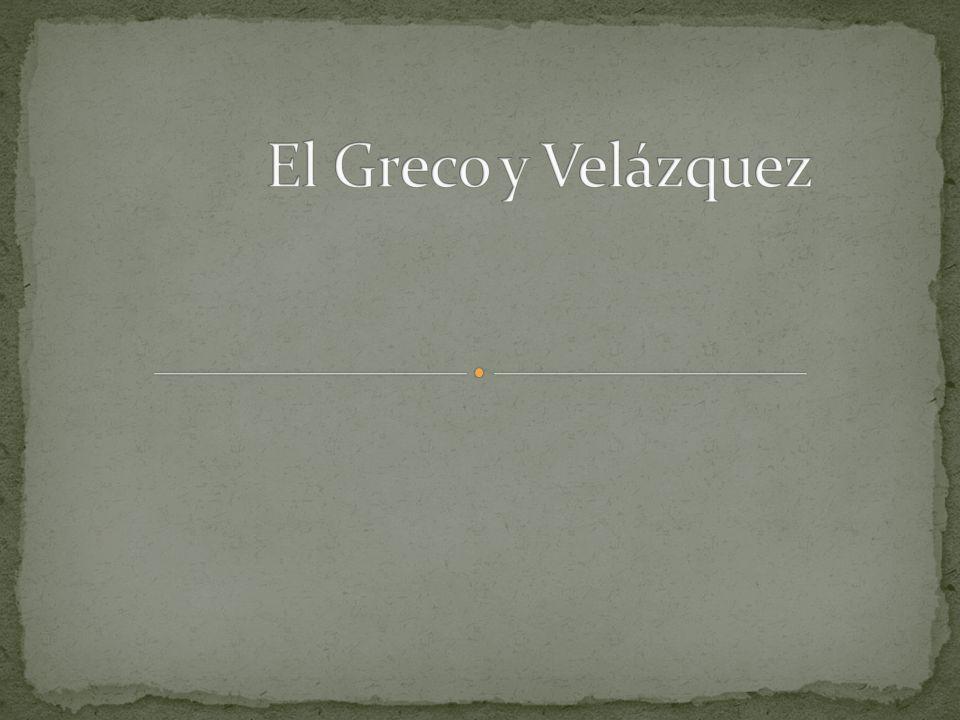 El Greco y Velázquez