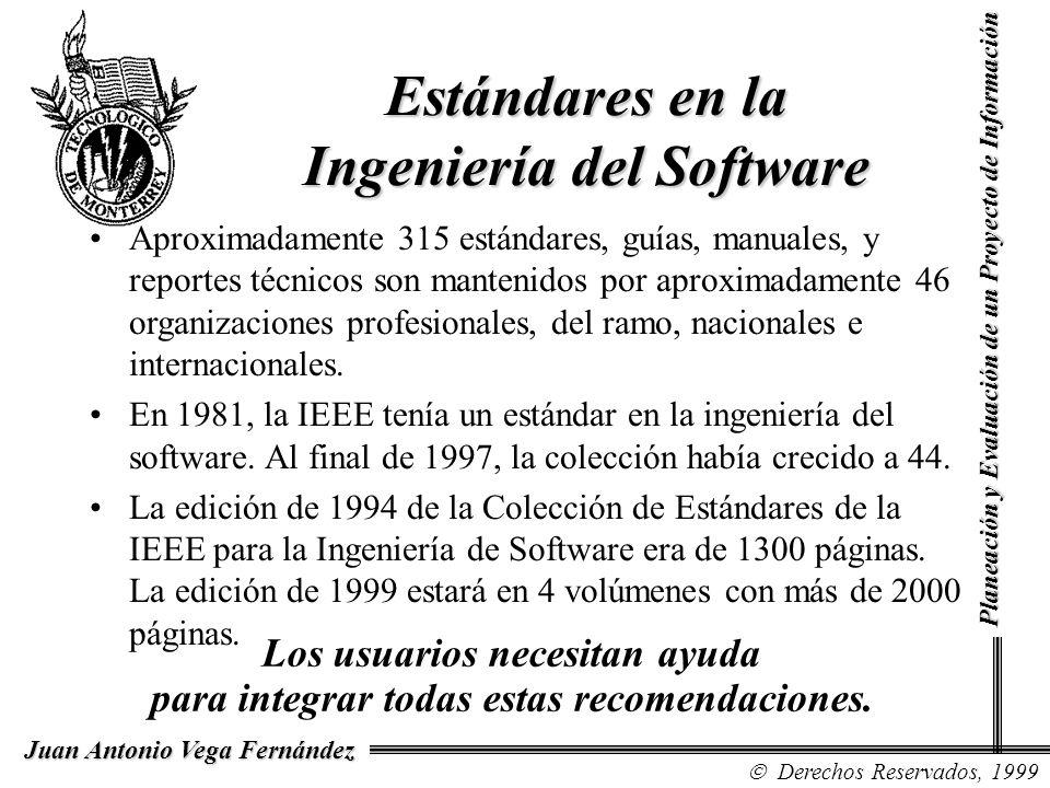 Estándares en la Ingeniería del Software