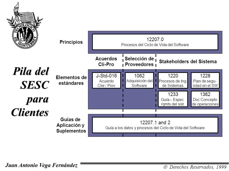 Stakeholders del Sistema Elementos de estándares