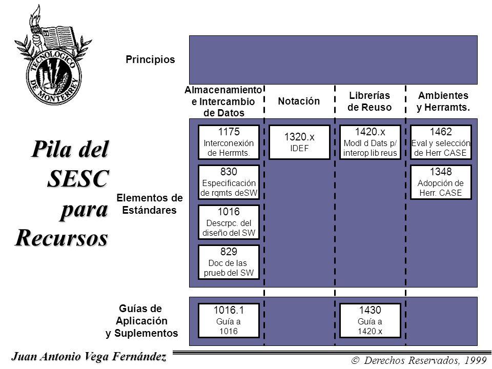 Elementos de Estándares Aplicación y Suplementos