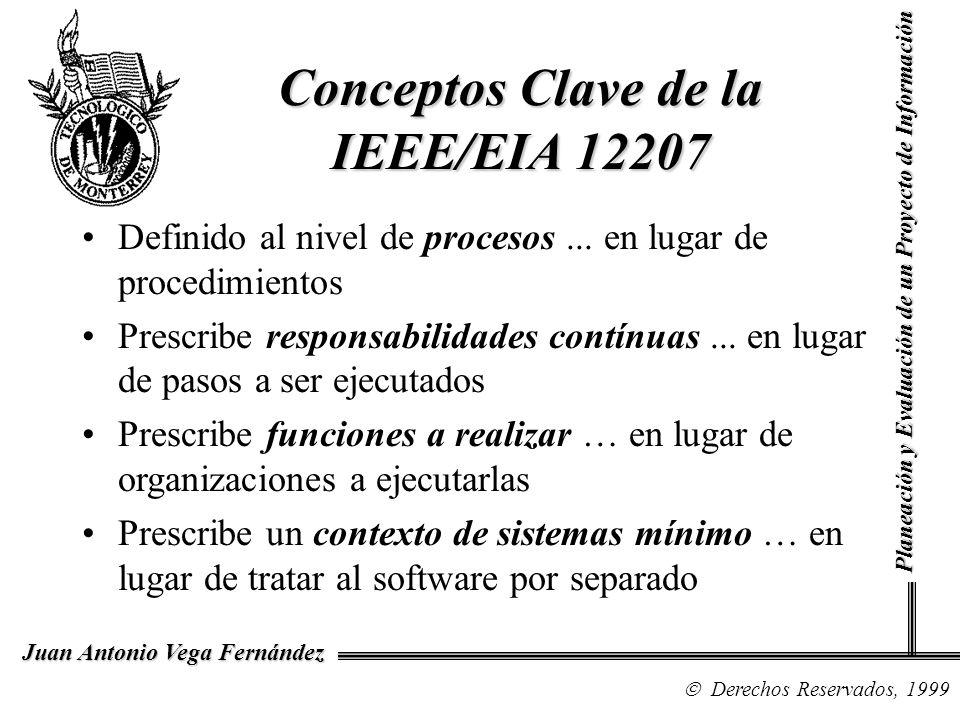Conceptos Clave de la IEEE/EIA 12207