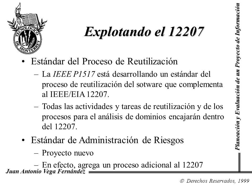 Explotando el 12207 Estándar del Proceso de Reutilización