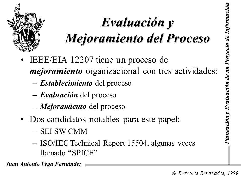 Evaluación y Mejoramiento del Proceso