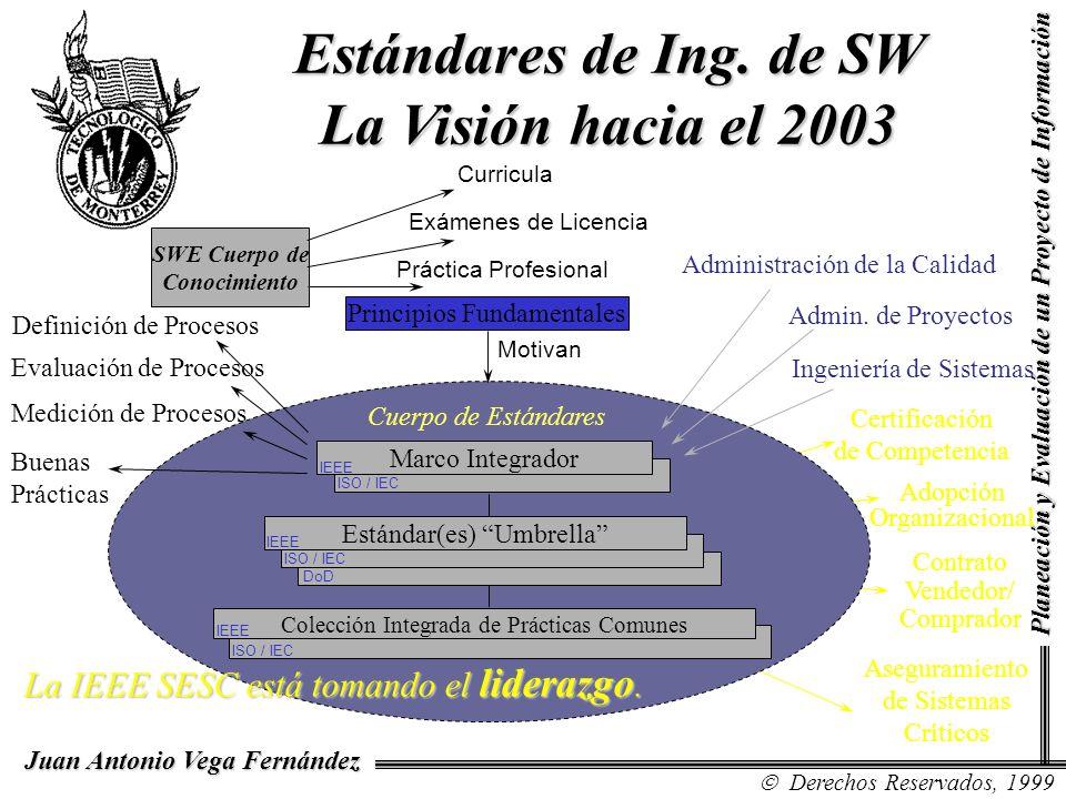 Estándares de Ing. de SW La Visión hacia el 2003