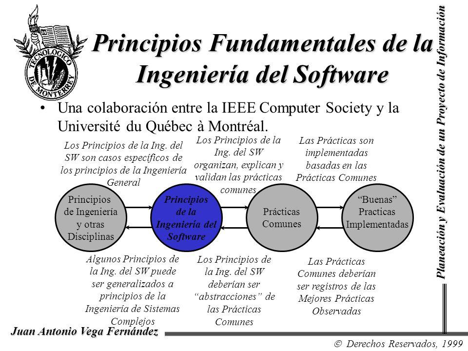 Principios Fundamentales de la Ingeniería del Software