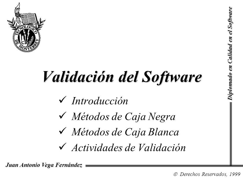Validación del Software