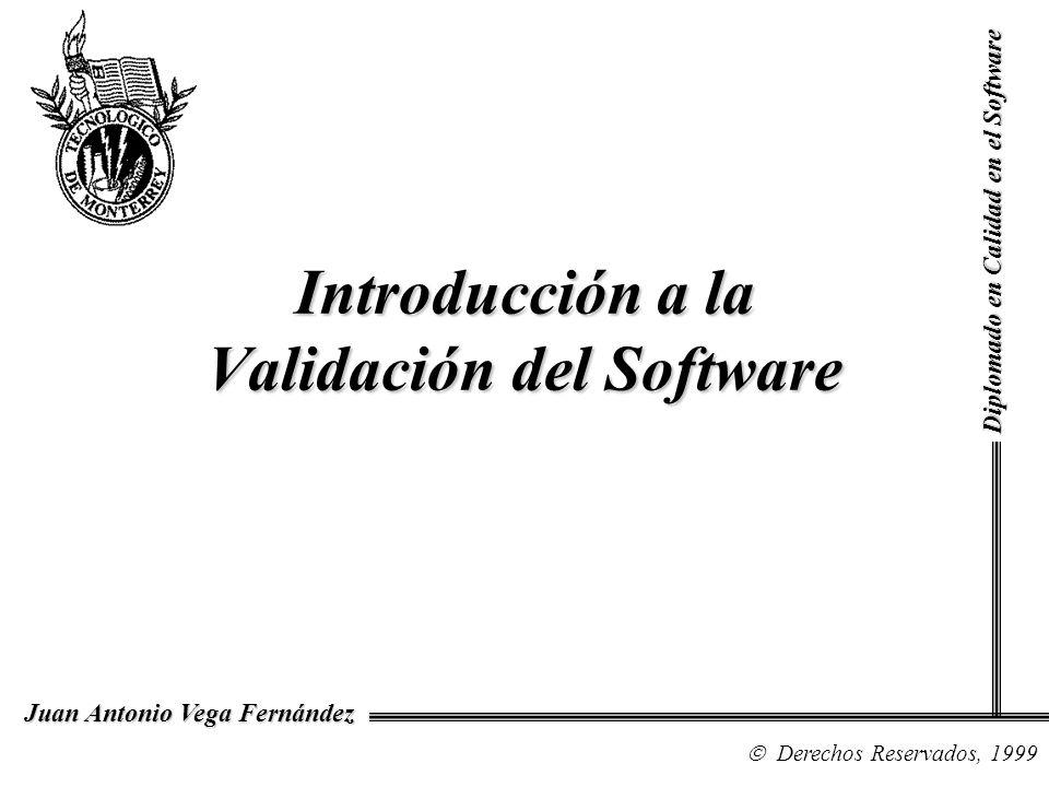 Introducción a la Validación del Software