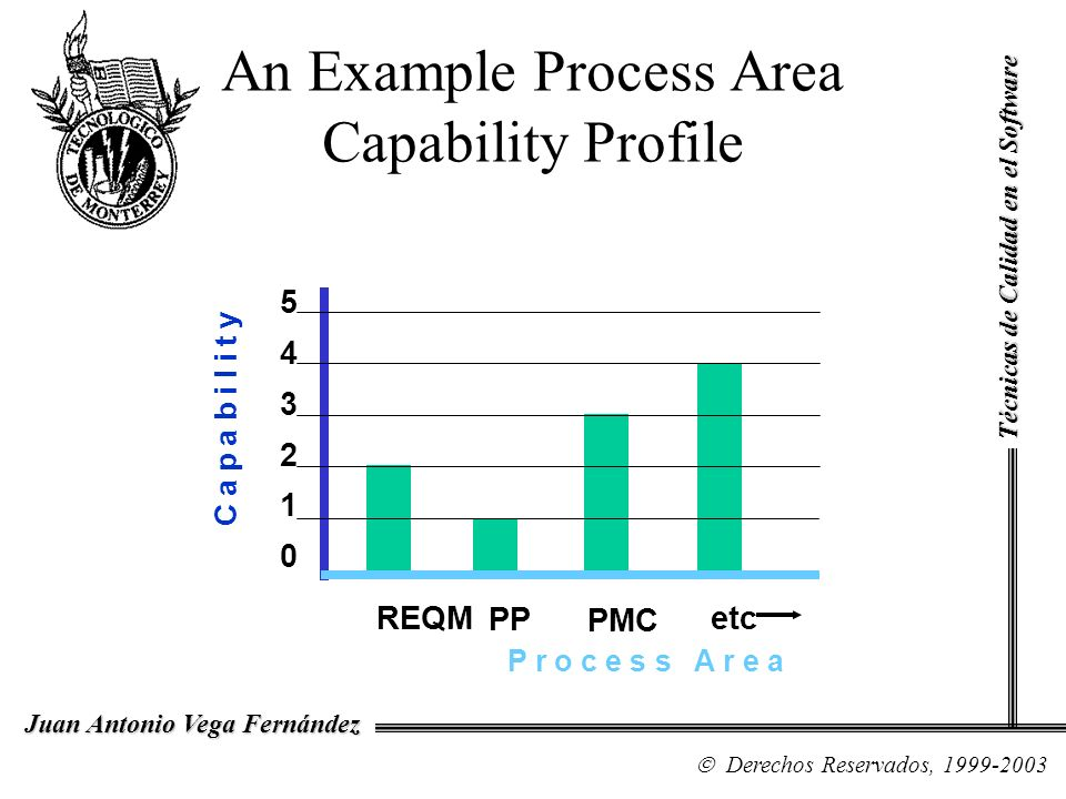 An Example Process Area Capability Profile