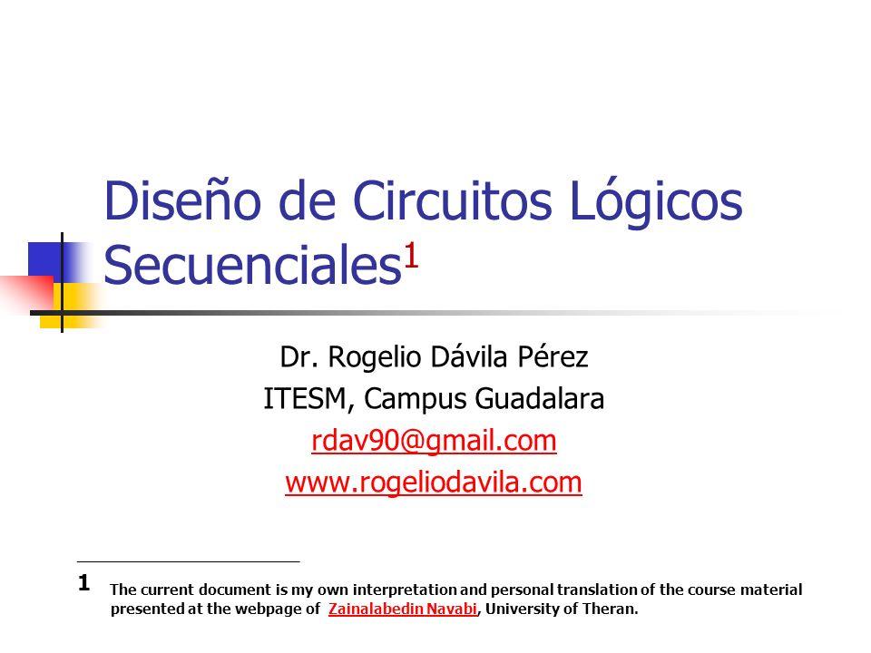 Diseño de Circuitos Lógicos Secuenciales1