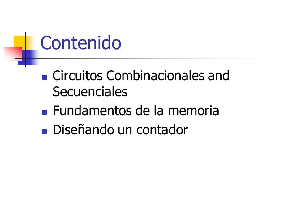 Contenido Circuitos Combinacionales and Secuenciales