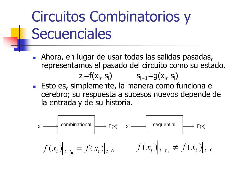 Circuitos Combinatorios y Secuenciales