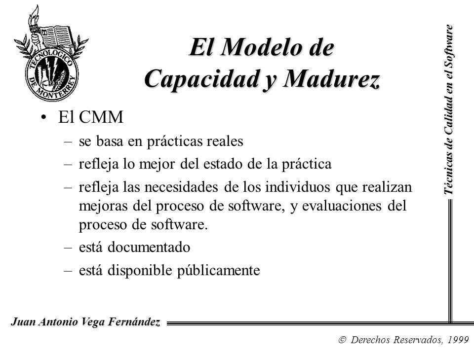 El Modelo de Capacidad y Madurez