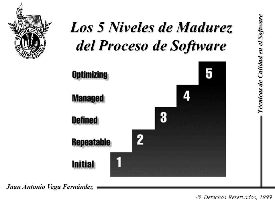 Los 5 Niveles de Madurez del Proceso de Software