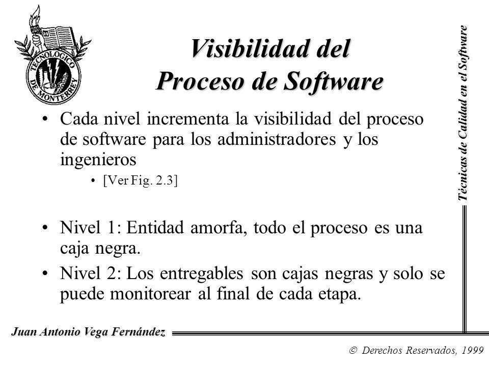 Visibilidad del Proceso de Software