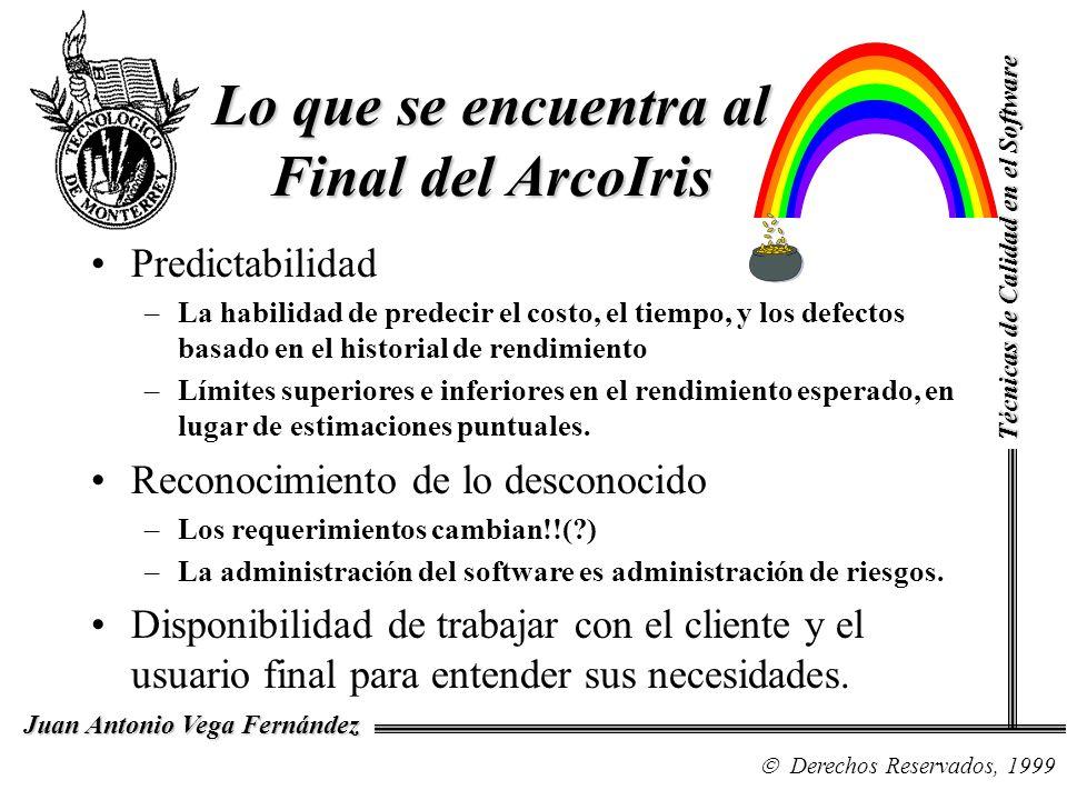 Lo que se encuentra al Final del ArcoIris