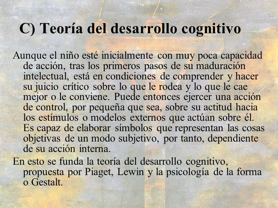 C) Teoría del desarrollo cognitivo