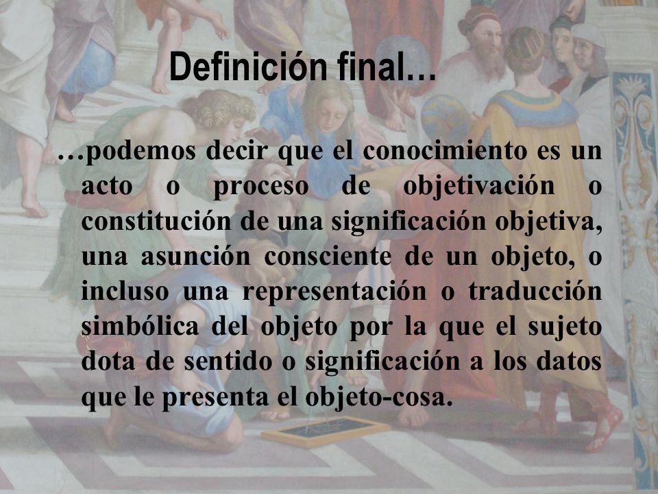 Definición final…