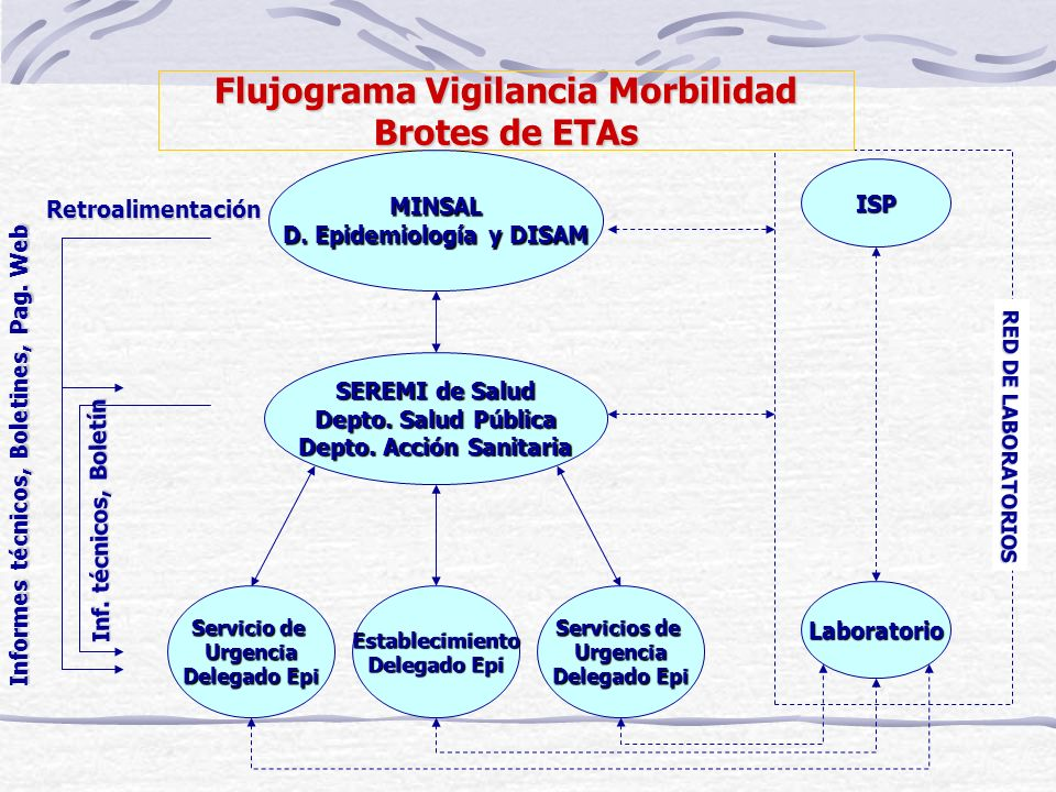 Flujograma Vigilancia Morbilidad Brotes de ETAs