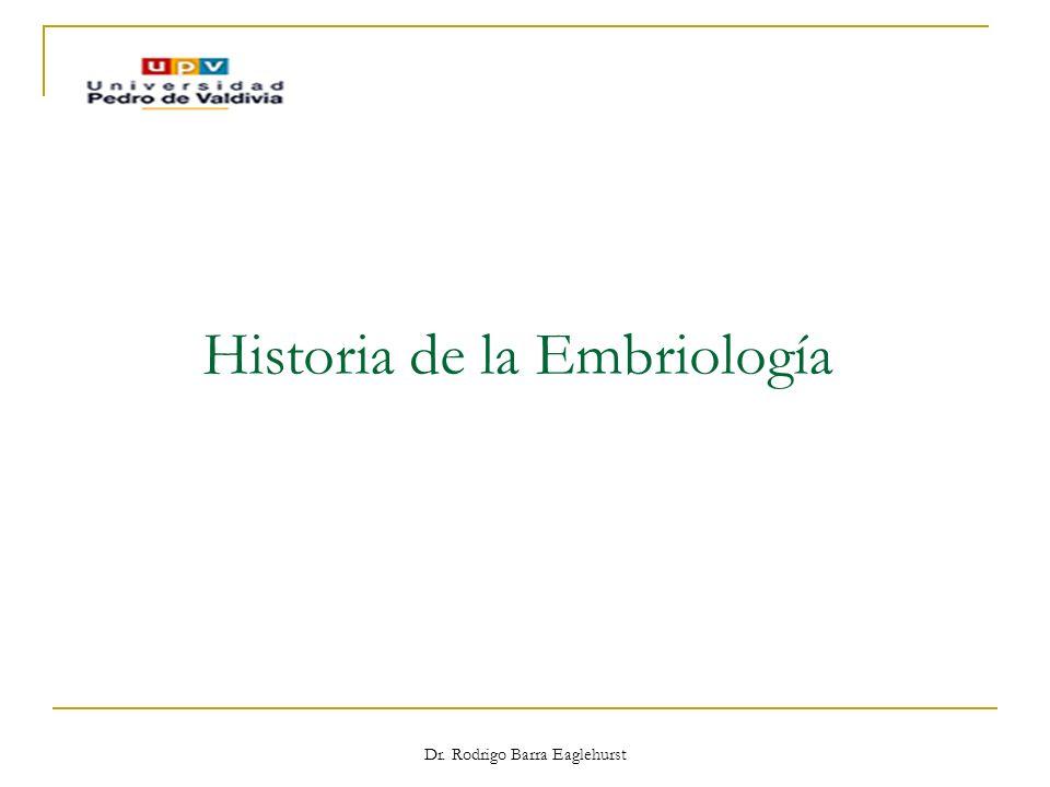 Historia de la Embriología