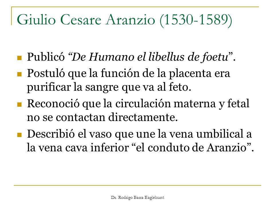 Giulio Cesare Aranzio (1530-1589)