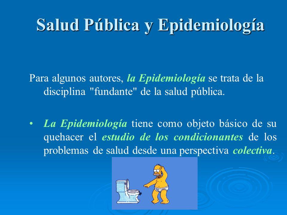 Salud Pública y Epidemiología