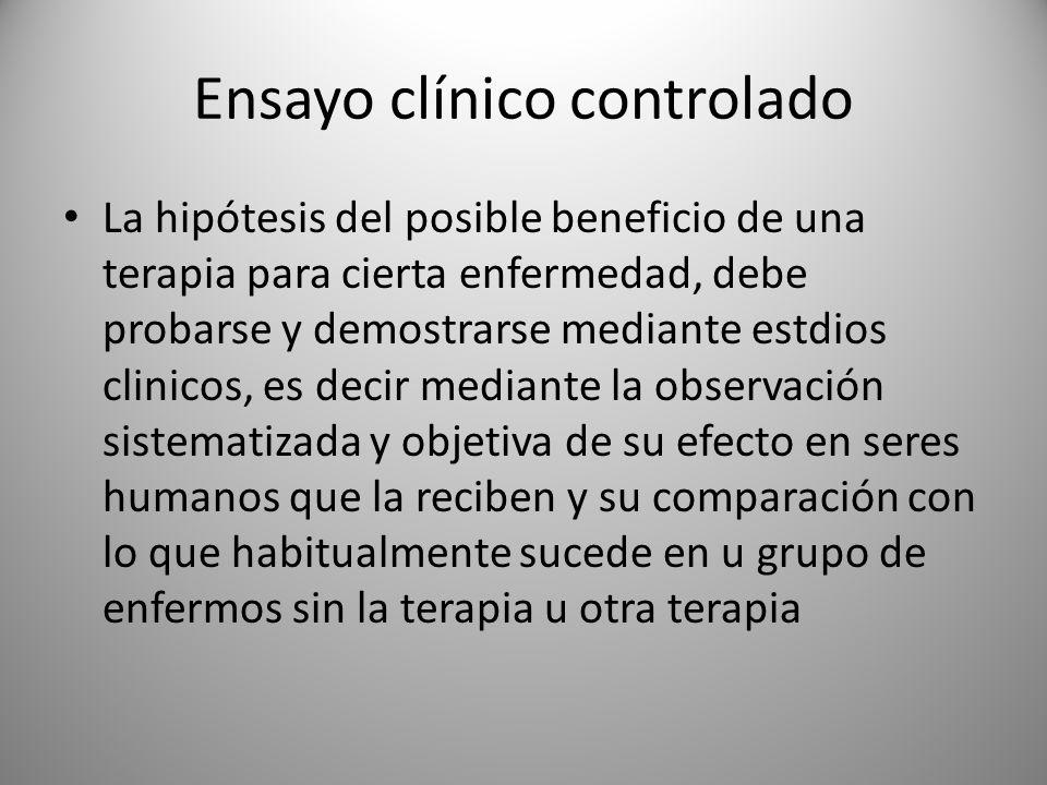 Ensayo clínico controlado