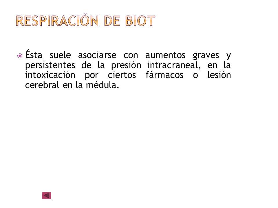 Respiración de Biot