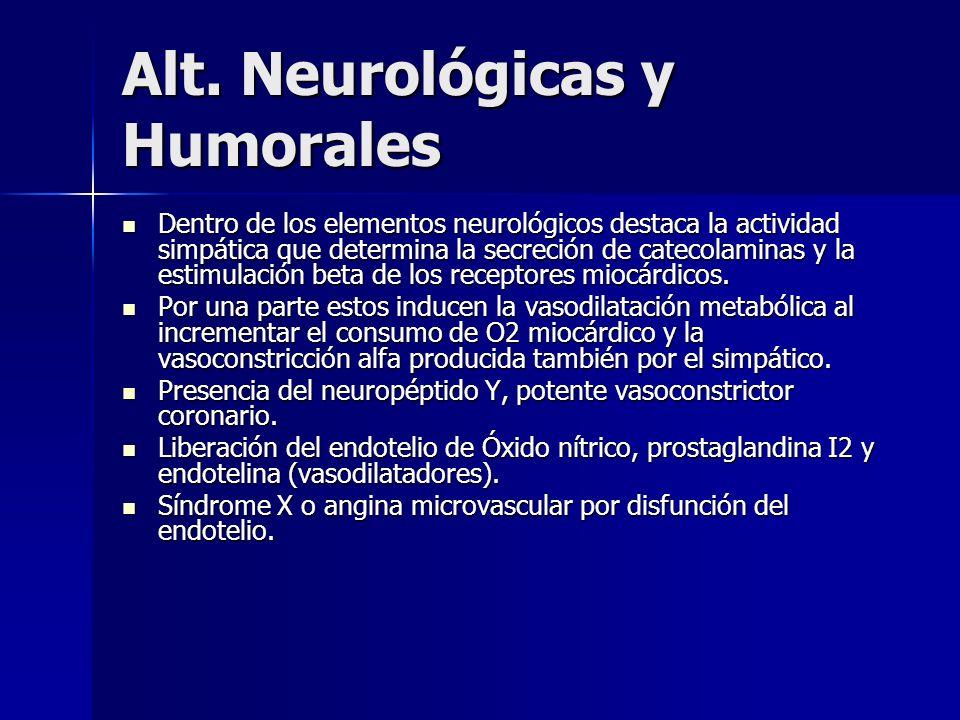 Alt. Neurológicas y Humorales