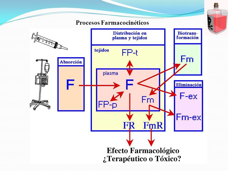 Procesos Farmacocinéticos