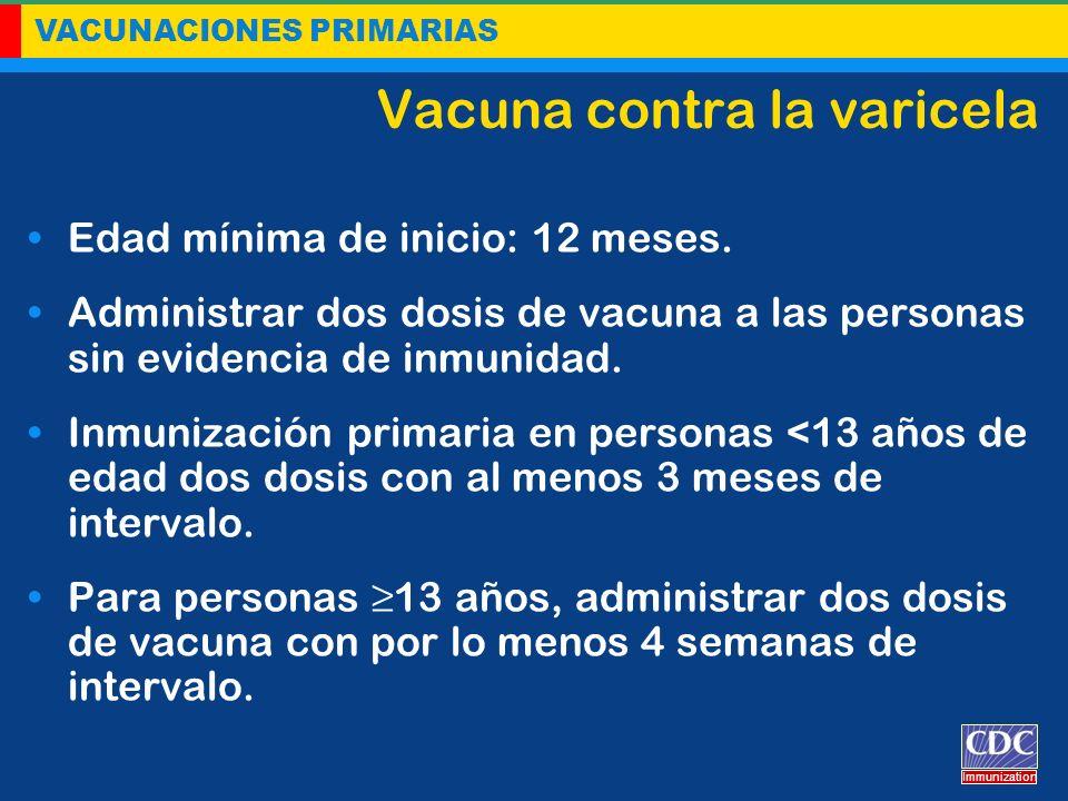 Vacuna contra la varicela