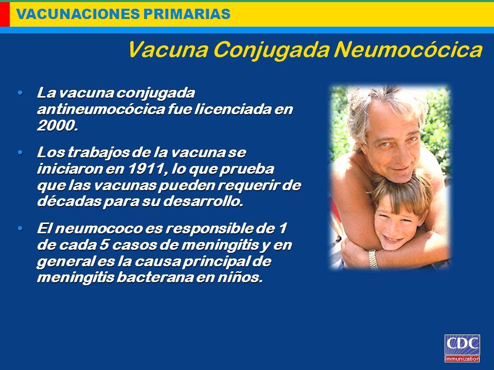 Vacuna Conjugada Neumocócica