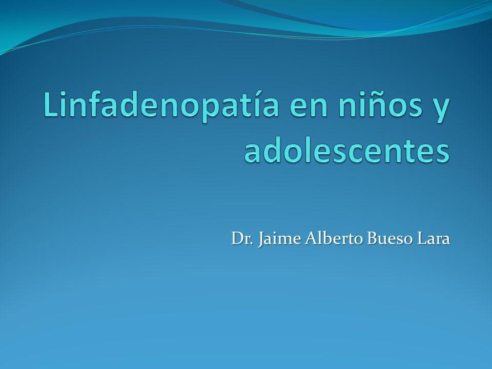 Linfadenopatía en niños y adolescentes
