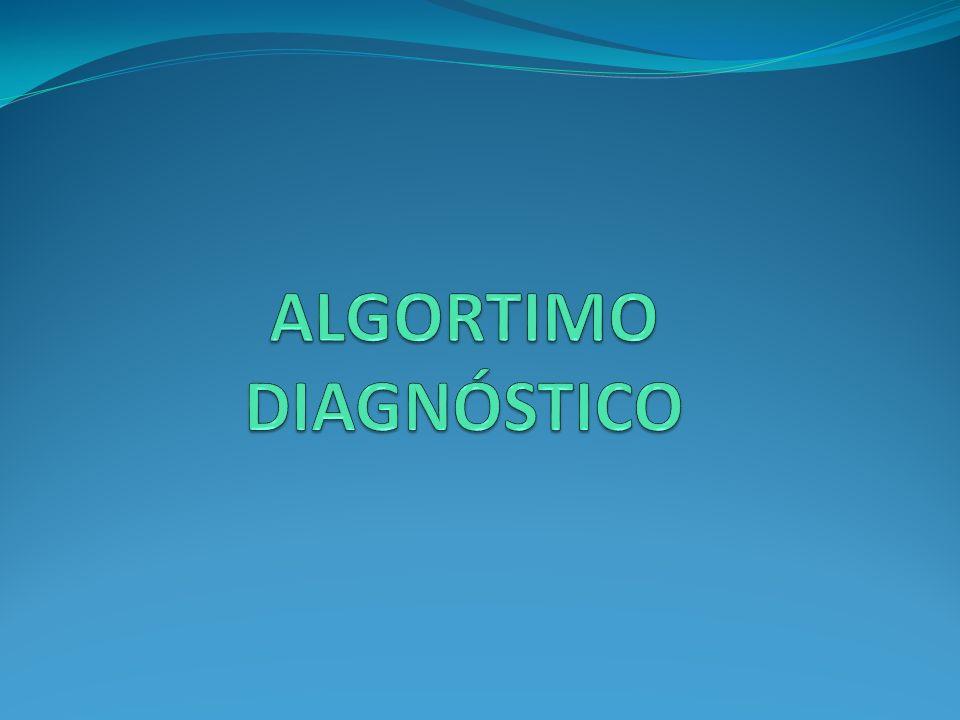 ALGORTIMO DIAGNÓSTICO
