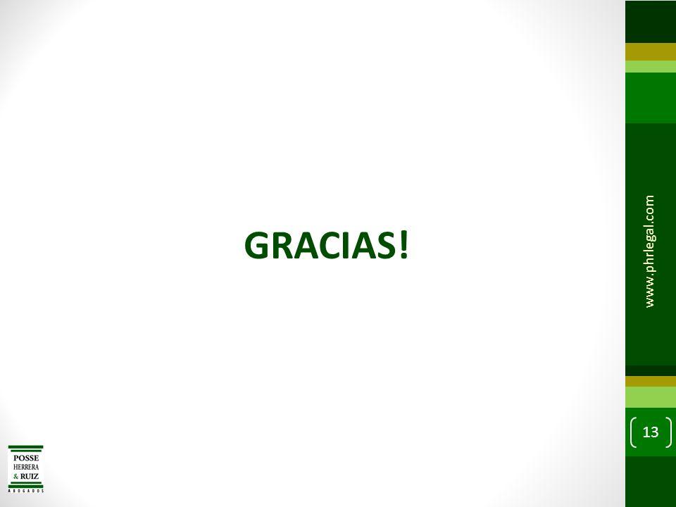 GRACIAS! www.phrlegal.com