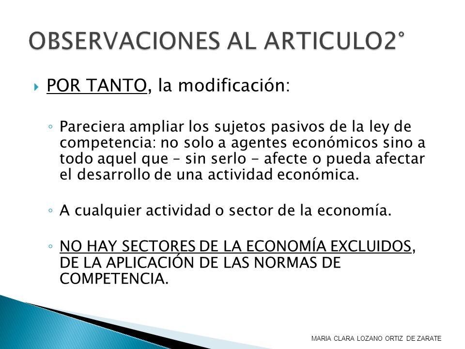 OBSERVACIONES AL ARTICULO2°