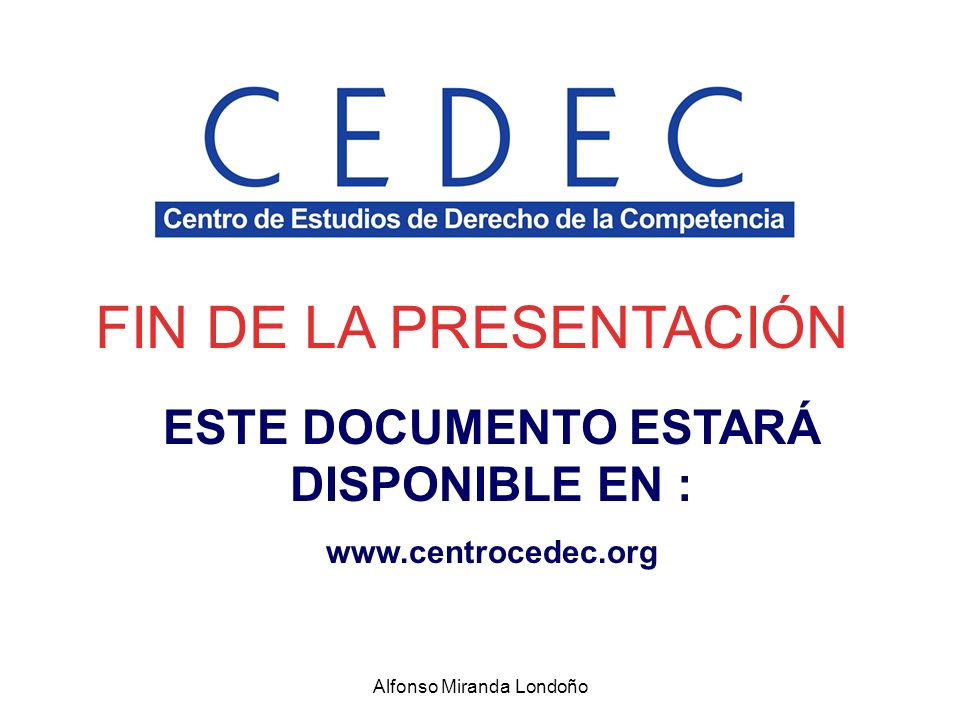 ESTE DOCUMENTO ESTARÁ DISPONIBLE EN :