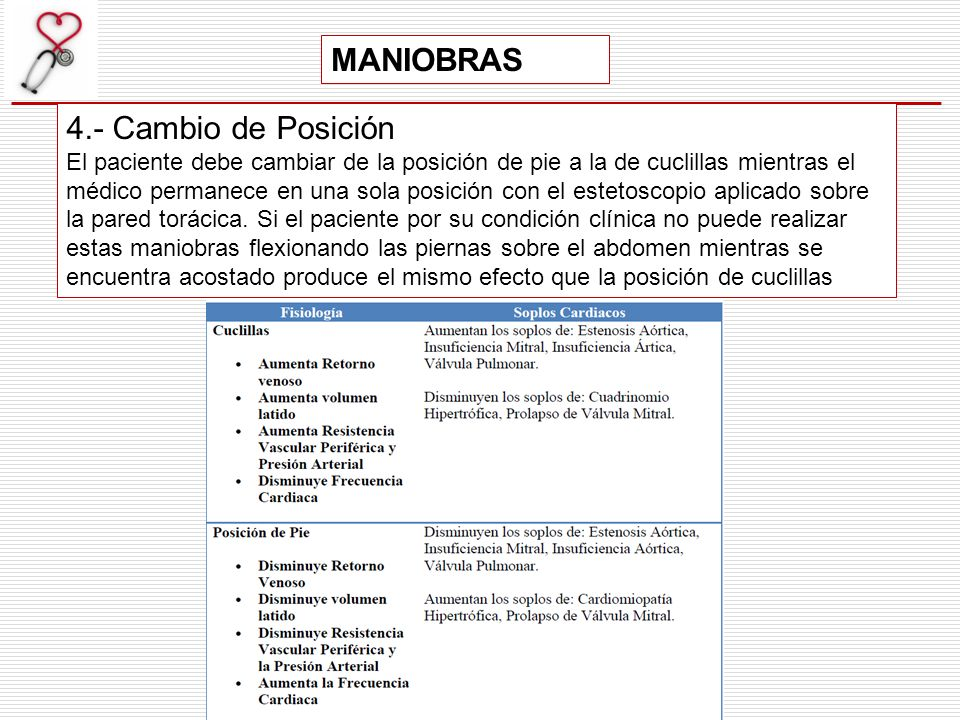 MANIOBRAS 4.- Cambio de Posición