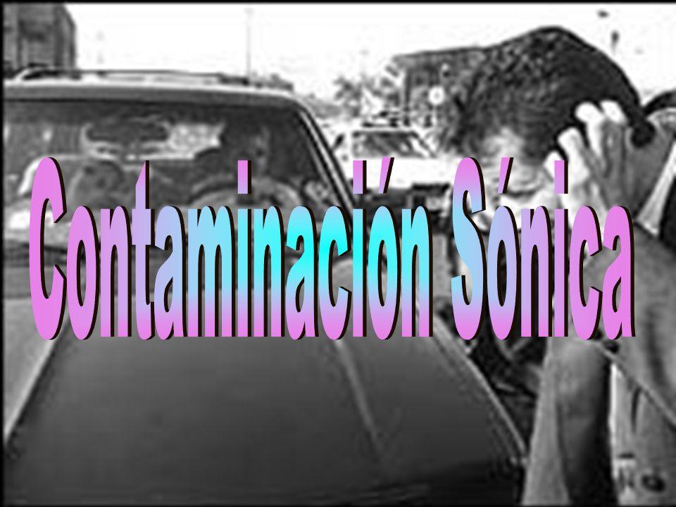 Contaminación Sónica