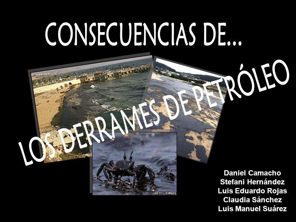 LOS DERRAMES DE PETRÓLEO