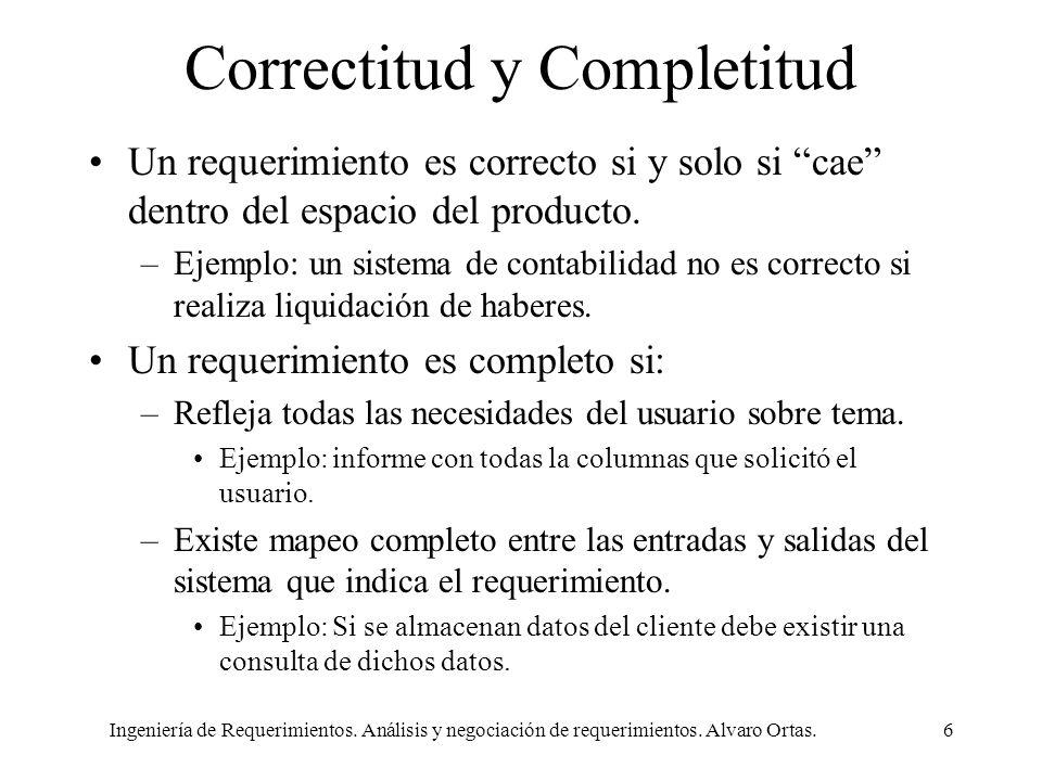 Correctitud y Completitud