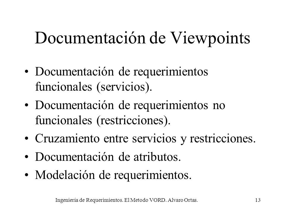 Documentación de Viewpoints