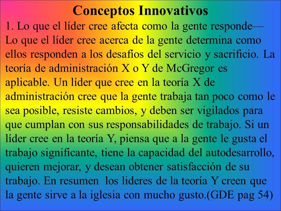 Conceptos Innovativos