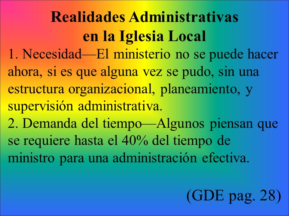 Realidades Administrativas