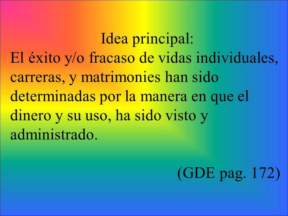 Idea principal: