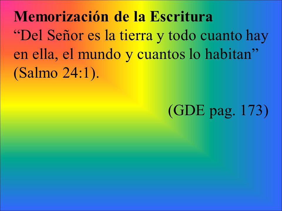 Memorización de la Escritura
