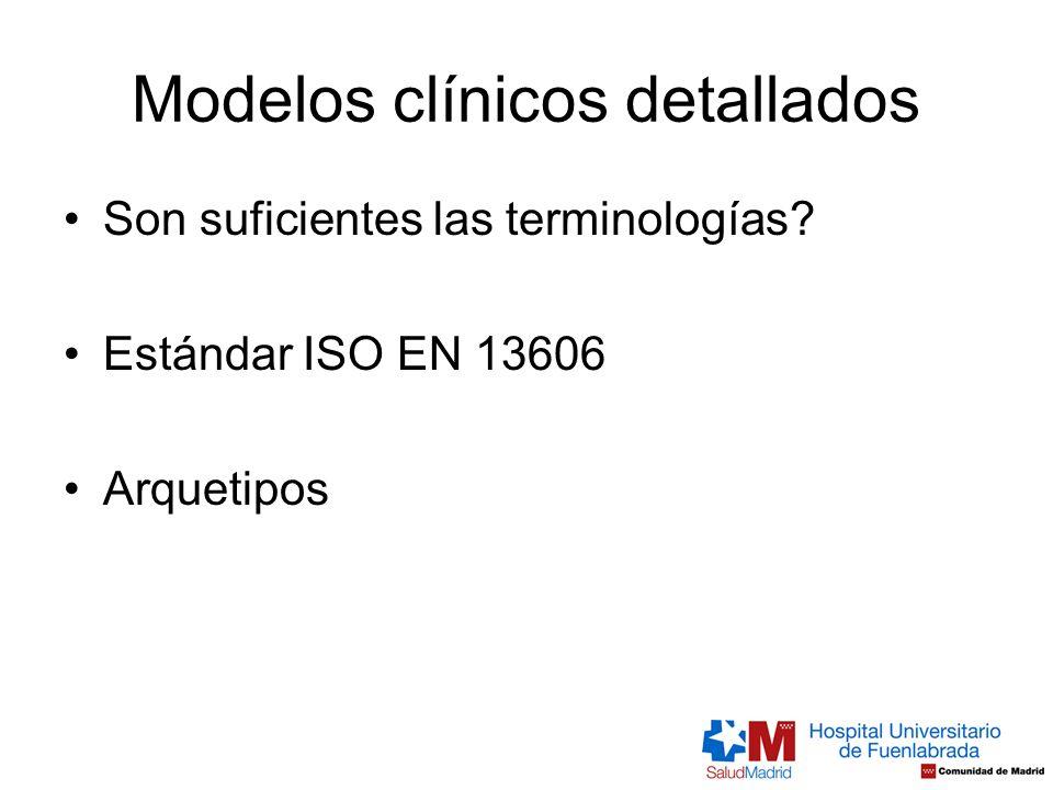 Modelos clínicos detallados